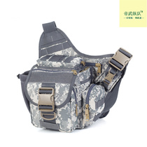 New army green D5 column Army fan outdoor saddle bag shoulder bag photography bag Messenger multi-function waterproof bag