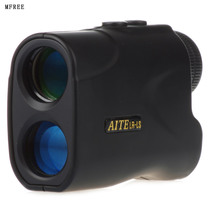 Monocular laser rangefinder speed telescope with Cross coordinates high-precision electronic ruler 200 fans 5 you 600 meters
