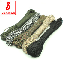 Outdoor Equipment High quality nylon 7 core umbrella rope mountaineering survival escape life saving rope tent pull Rope