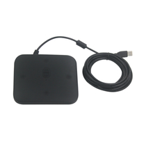Pusenter for -10 m radius array video conferencing omnidirectional microphone USB plug and play