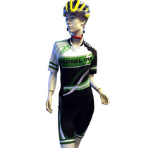 Strong track speed skating warm-up uniform steam ing-body speed skating riding suit skating uniform roller-skating race jumpsuit