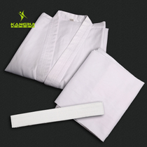 Kang Rui Karate clothes childrens adult seven-point sleeves professional standard game training men and women cotton karate clothing