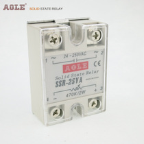 AOLE Ole Ole single-phase 25A resistive solid state regulator SSR-25VA solid state relay 220V dedicated.