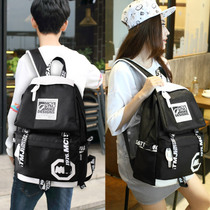 Shoulder bag female Oxford waterproof leisure travel bag computer bag Korean fashion bag female ins wind backpack female