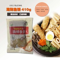 Lad seafood fish cake 410g Korean sweet and spicy Korean troops hot pot fried rice cake ingredients seafood cake