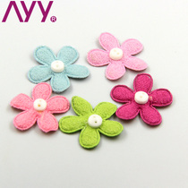 AYY headdress flower DIY handmade hair accessories material chicken skin velvet art shoes clothing headband hair accessories accessories