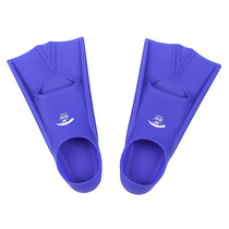 Swimming training with pure silicone short feet adult children diving snorkeling to protect the ankles.