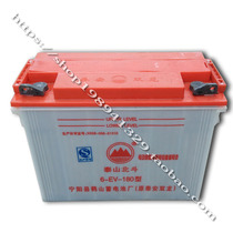 Time wind electric vehicle sedan Taishan Beidou Shuanglong lead acid battery 12v180 type 140A water storage battery
