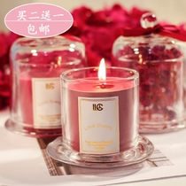 Aromatherapy Candle Bedroom Romantic Wedding Fragrance Gift Box Birthday Candle Cup Creative Imported Soybean Wax