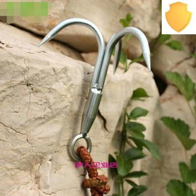 Climbing flying tiger claw three claw hook Climbing Tiger Claw Rock Climbing Paws Climbing Hook water grass hook climbing hook flying claw climbing.