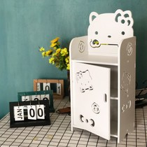 Children's mini bedside table boy girl creative modern simple bedroom simple bedside shelf multi-layer storage