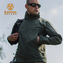 Spring and autumn instructors tactical single-layer assault clothing male Special Forces Army fans Tactical Jacket outdoor windbreaker mountaineering jacket