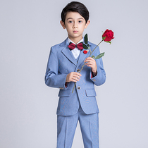 Children's Suit Suit Boy small suit flower girl dress male wedding catwalk piano costume three-piece handsome