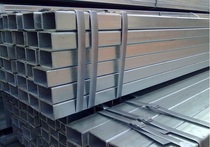 4 * 6 galvanized square pipe galvanized steel pipe Q235B processable thickness available 1 0 1 2 1 5 2 0mm