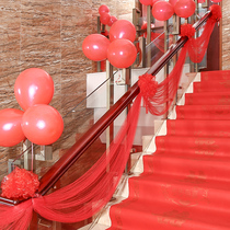 Philippine find wedding room layout supplies lahua stairs decoration balloon yarn mantle suit creative wedding new home decoration