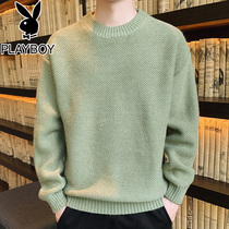 Playboy autumn and winter sweater men loose thick Korean version of the trend of 2019 new style knit