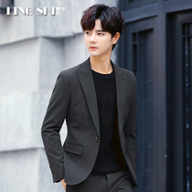 Leisure West decoration body Korean version of the youth small suit a suit men are wearing jacket jacket autumn trend handsome