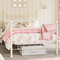 Laura Ashley Albertine pink three-piece bedding cotton bed linen quilt cover four sets of pure cotton