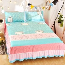 Bed linen bedspread bedspread summer cotton 100% dustproof single piece bed set cotton 1 m 8x2185 protection