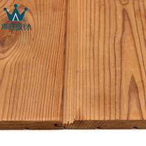 Sound Wang plate Pinus sylvestris depth carbonized wood buckle sauna wall panels ceiling wall anti-corrosion wood wall panels
