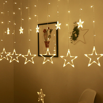 led Star lights flashing lights string lights Star Girl room layout rental dormitory 7821-XGPM