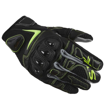 SBK motocross gloves male riding four seasons carbon fiber drop heavy motorcycle racing gear Knight equipment
