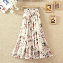 Young mother summer new skirt middle-aged womens clothing 20 was thin 25 to 30-35 to 40-year-old skirt