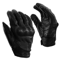 Thompson TTCO motorcycle gloves retro protective gloves drop-resistant leather gloves sheepskin gloves touch screen