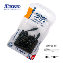 Harrows professional soft darts soft dart head Plastic dart needle 2BA soft needle British original imports