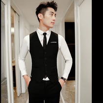 Suit vest suit mens three-piece business suits slim suit vest hotel workwear groomsmen tuxedo