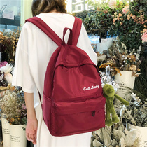 ins wind bag Version coréenne pour les lycéennes Junior High School campus backpack 2019 new fashion tide backpack