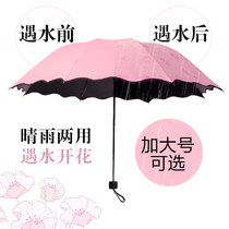 Creative small fresh umbrella female goddess folding umbrella dual-use umbrella Korean version about students sun umbrella