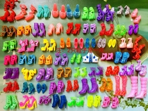 Barbie clothes and pants shoes life supplies female treasure toys handmade Barbie full set of materials