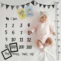 Baby photo background cloth baby full moon Hundred Days month photography props thickened newborn photo blanket blanket