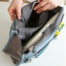Bag liner storage finishing layer backpack partition classification liner storage finishing classification liner bag
