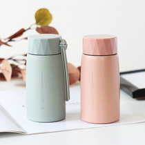 Nordic minimalist mug men and women students portable ins Harajuku feng shui cup mini compact simple art Cup