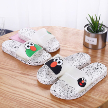 Harajuku wind 2019 New trembling summer wear slippers women with spring net red cute ins Super fire cool