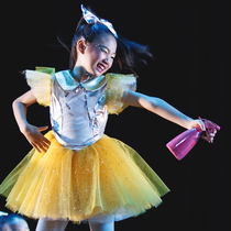 The 9th Xiaohui style recital dance clothes children Princess yarn skirt girl performance tutu skirt