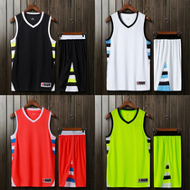 Summer basketball clothing custom printed personalized DIY uniforms sweat  quick-drying basketball clothes double pocket 7822522a3