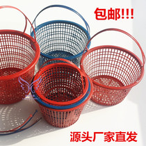 Special 2-8 kg strawberry basket round Bayberry basket portable plastic fruit basket grape picking baskets
