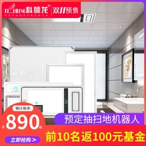 Ke Lions integrated ceiling aluminum buckle kitchen bathroom ceiling material self-assembly materials full meal accessories 300