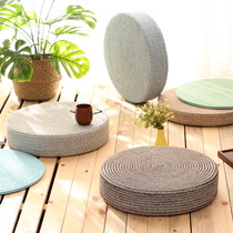 Sitting on the floor of the round mat tatami futon cushion sitting home sitting padding floating window dwarf Nordic