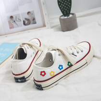 Elegant canvas shoes children 2019 tide shoes new Korean students Wild net red ulzzang board shoes ins tide