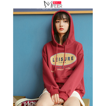 Honey Fei children plus cashmere sweater 2019 new female Winter students loose vintage girl lazy wind CEC coat