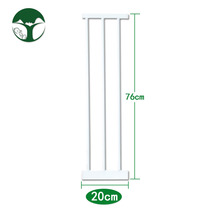 76 high section 20cm free drilling childrens stairs safety guardrail extension pet fence extension