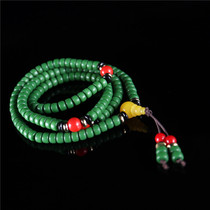 Tibetan Qibao liuli beads beads bracelets ethnic wind boutique glass beads DIY glass beads beads