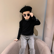 Children's clothing girls bottoming shirt spring and autumn 2019 New children's style shirt autumn girl cotton long-sleeved T-shirt