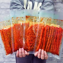 Snacks Network red shaking recommended high-value network Red big spicy snacks spicy spicy flavor when I was a child