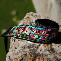 Special national wind jewelry features satin exquisite embroidered belt ethnic embroidered belt YD-04