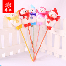 Huachi Christmas decorations 40cm Angel snowman stick children Creative Christmas gifts Christmas tree ornaments